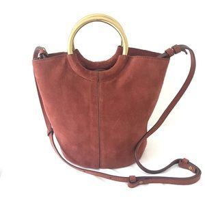 J. Crew   Bracelet Bucket Bag in Italian Leather